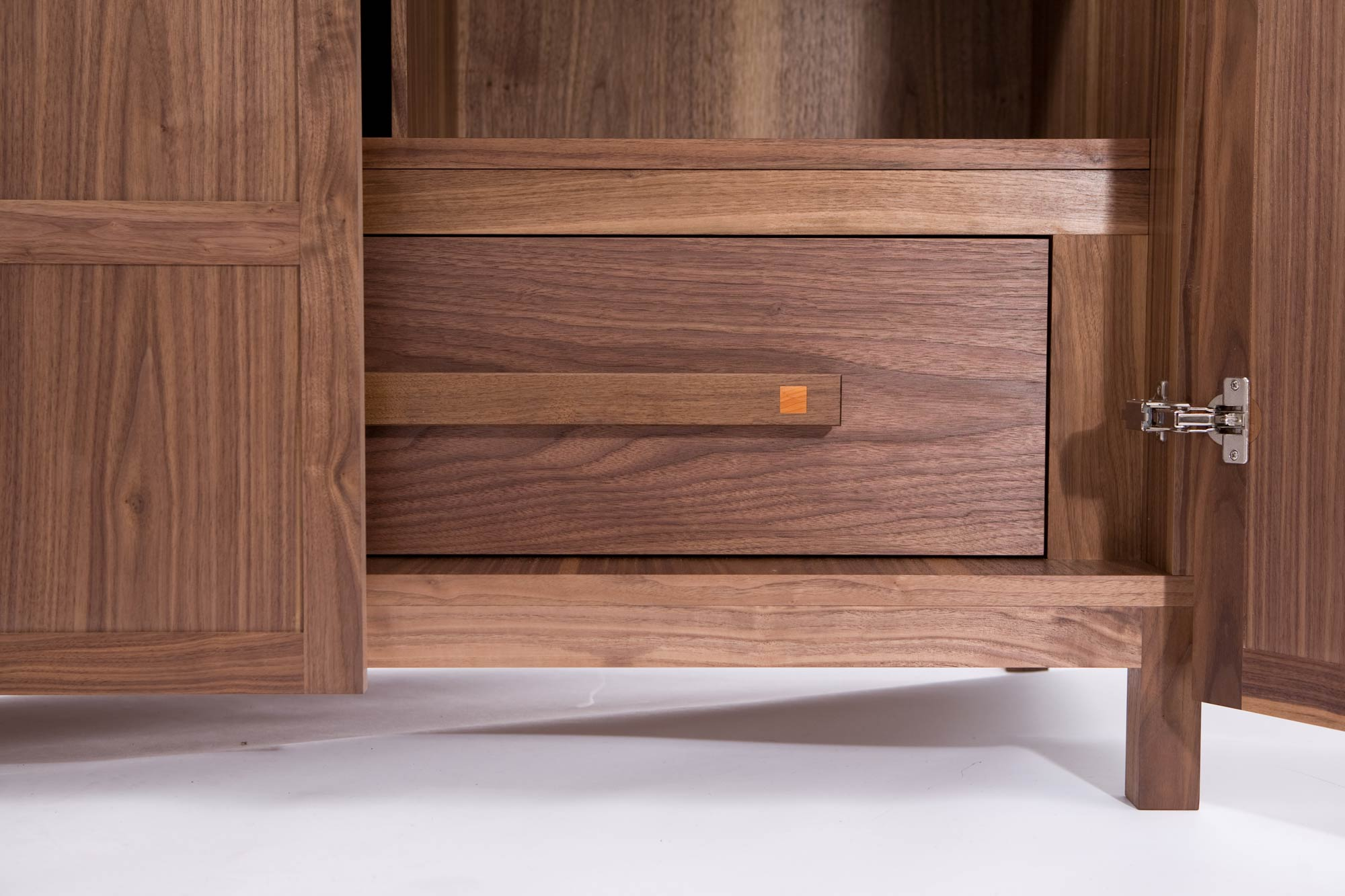 Wardrobe with secret compartment, walnut | Makers' Eye