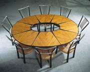 Dining or conference table in oak