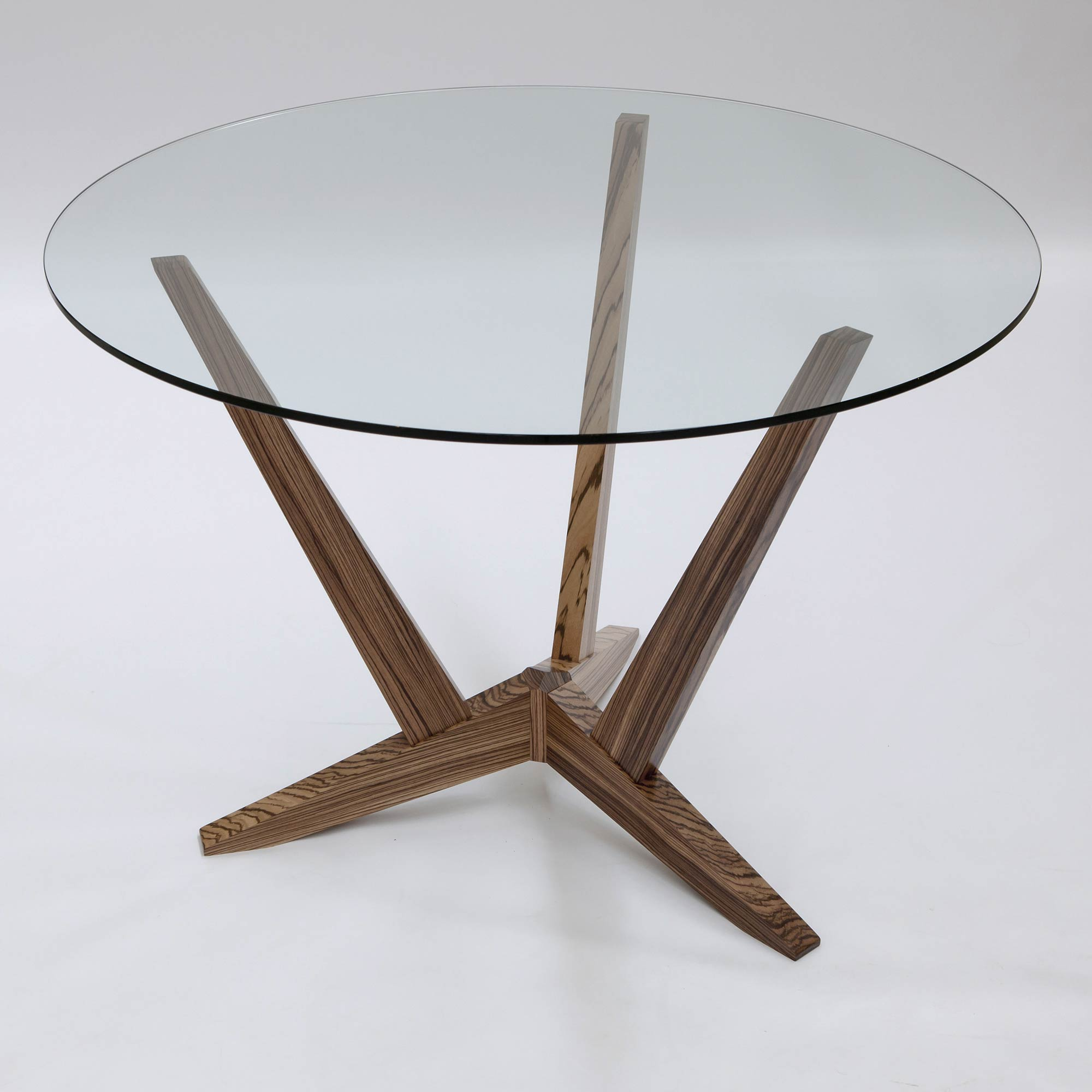 Bespoke glass top dining table makers 39 eye for Glass furniture