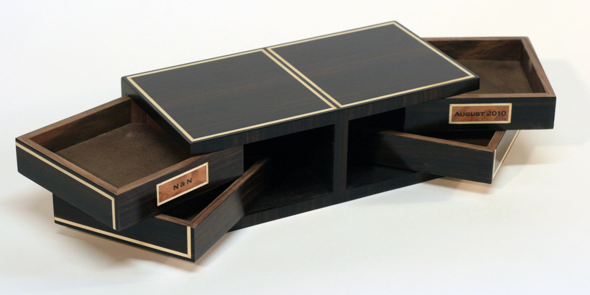 Art Deco Cufflinks Box Makers Eye