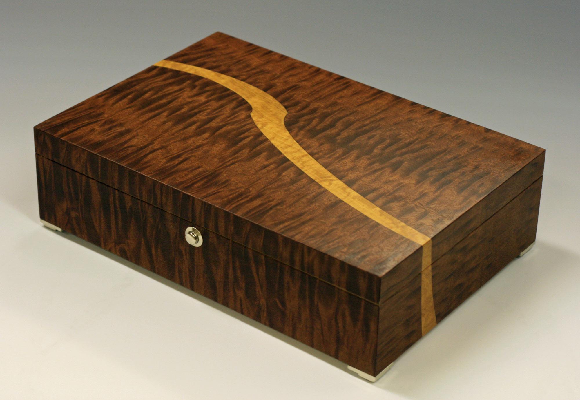 Bespoke Handmade Trinket Box Makers Eye