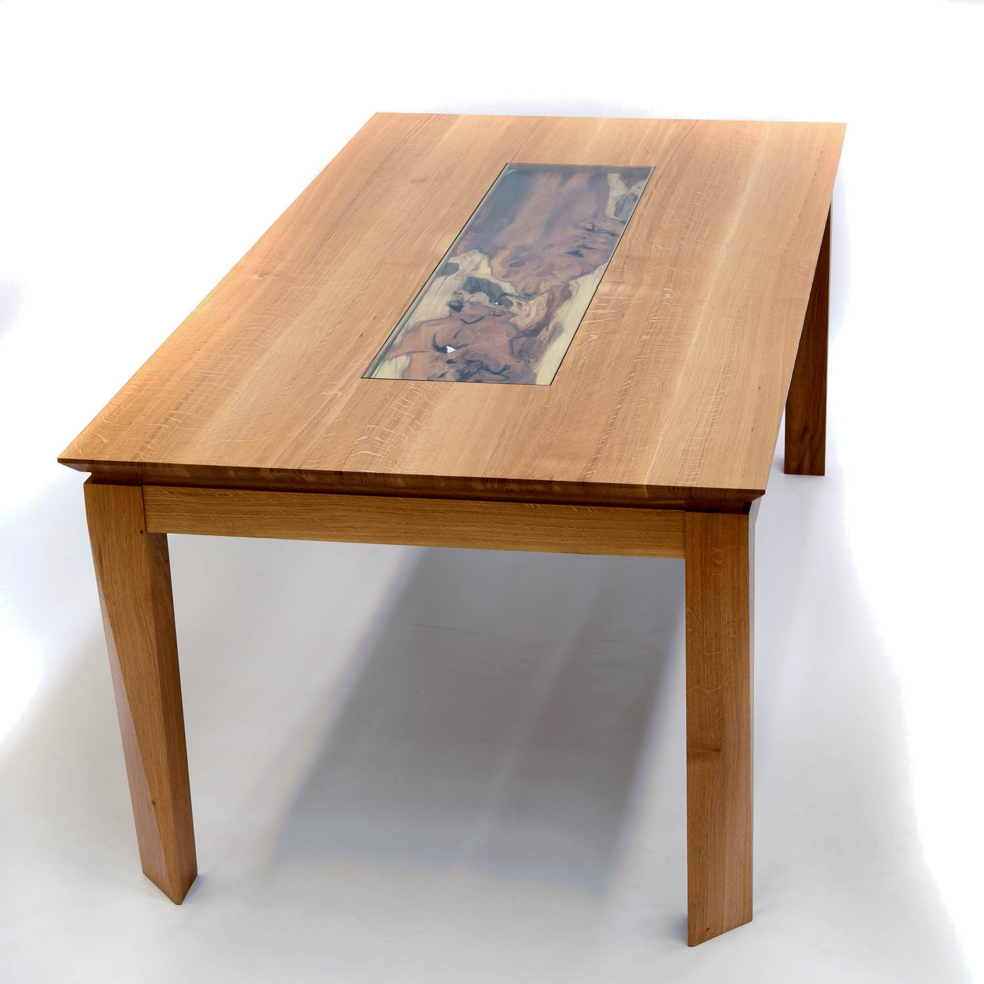 Dining Table In Oak Amp Yew