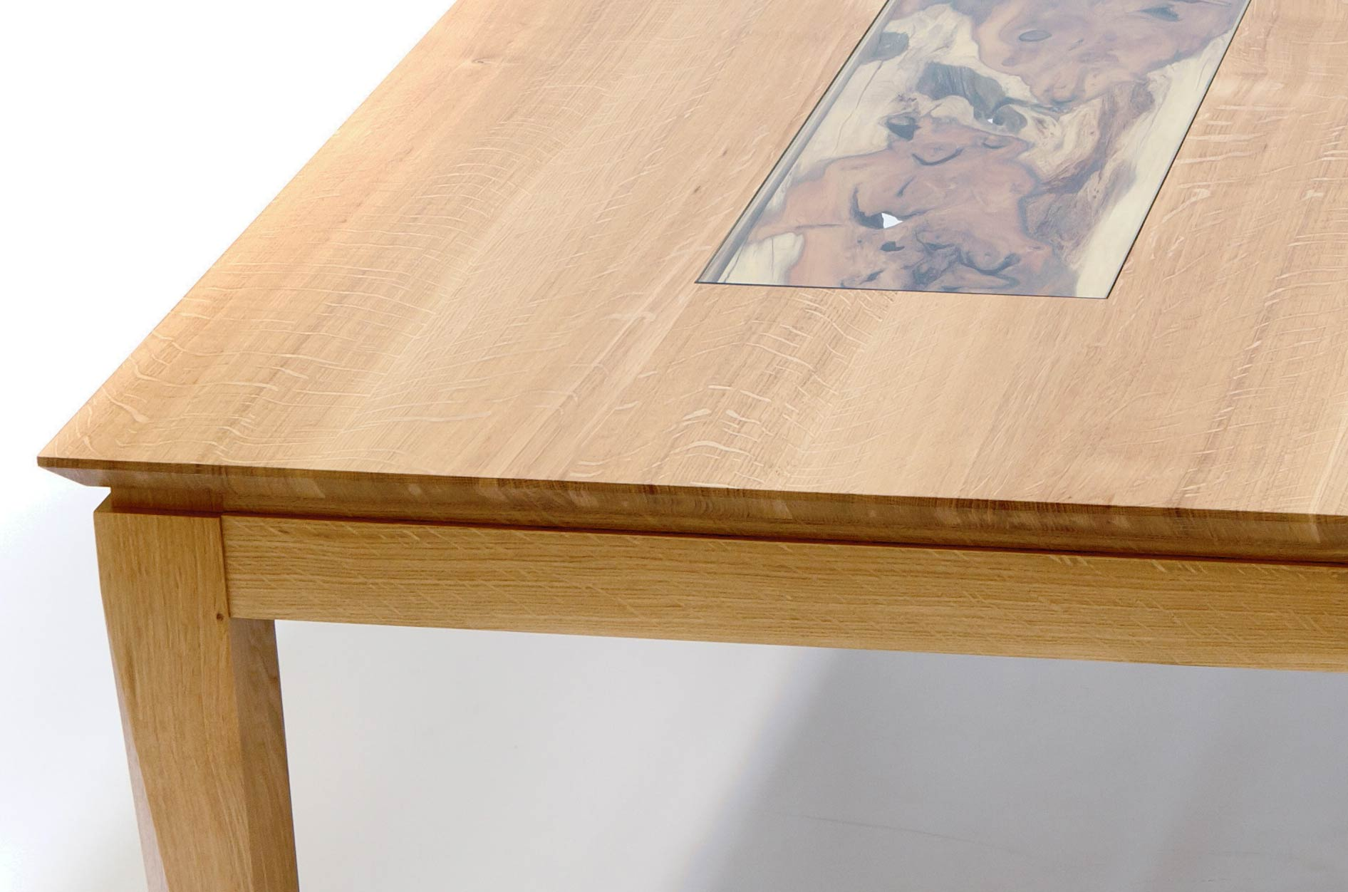 Yew Dining Room Furniture Dining Table In Oak Amp Yew Makers39 Eye