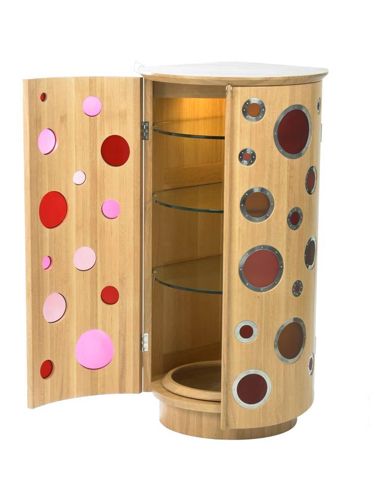 Cocktail Drinks Cabinet In Oak Makers Eye