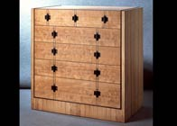 Bespoke chest of ten drawers
