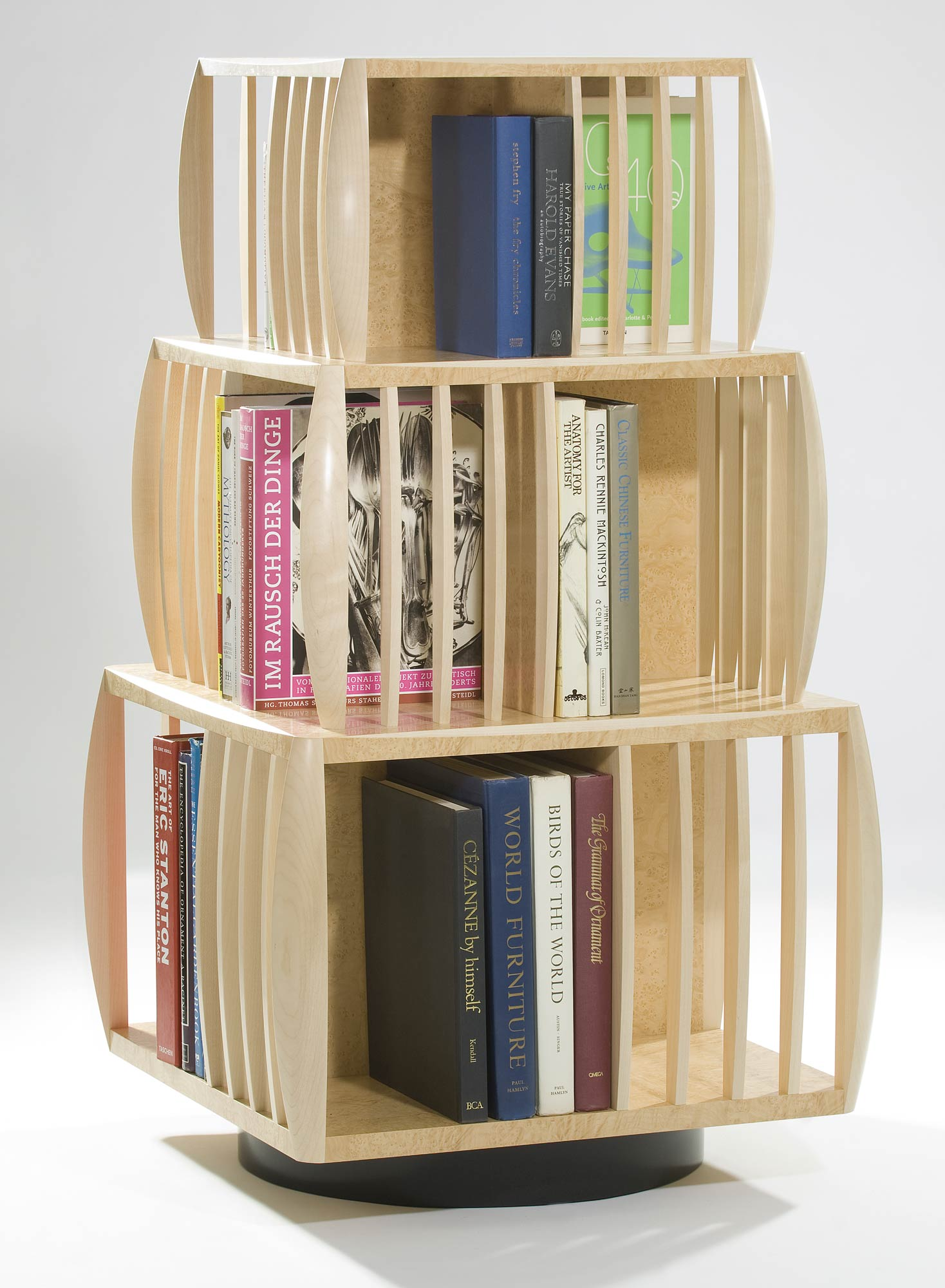 Revolving Book Shelf - DIY Woodworking Projects