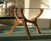 Dining Table in oak 'Tricentre'