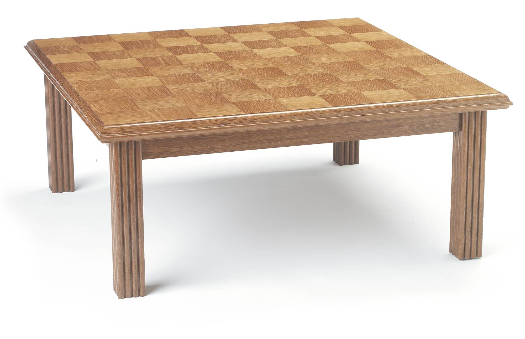 bespoke coffee table in oak | makers' eye