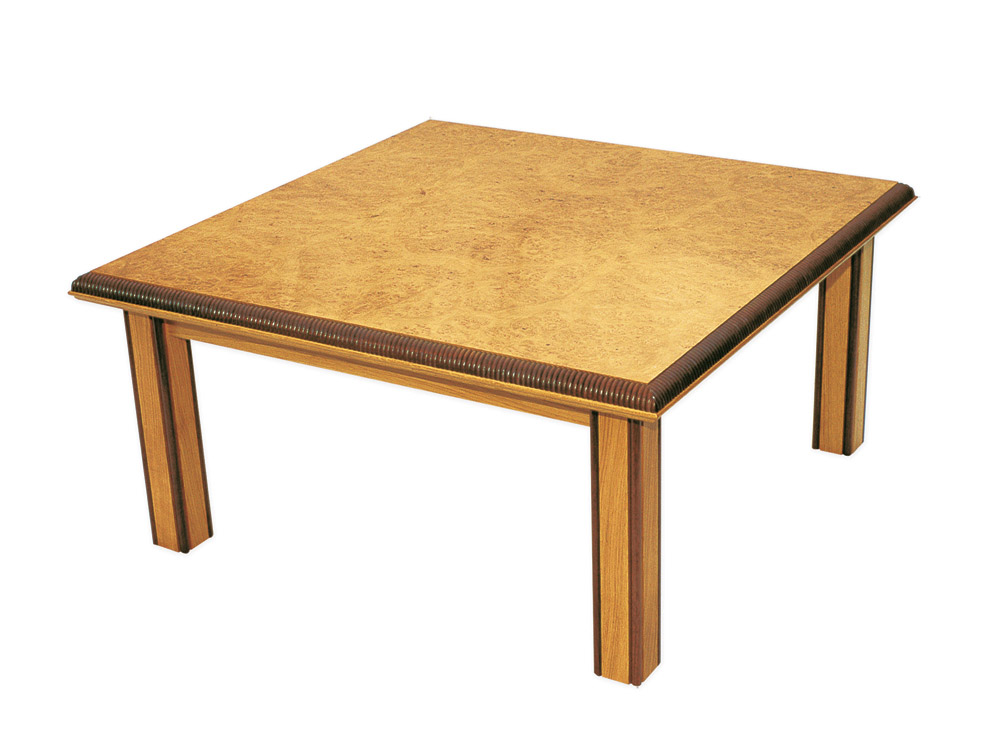 Handmade Coffee Table In Burr Oak Makers 39 Eye