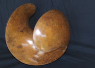 bronze sculptural piece 'sphelix'