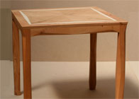 Side Table in yew & holly