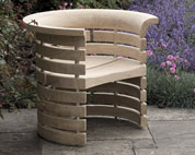 Outdoor Chair in oak