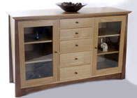 Sideboard display cabinet