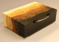 Handmade Bespoke jewellery box