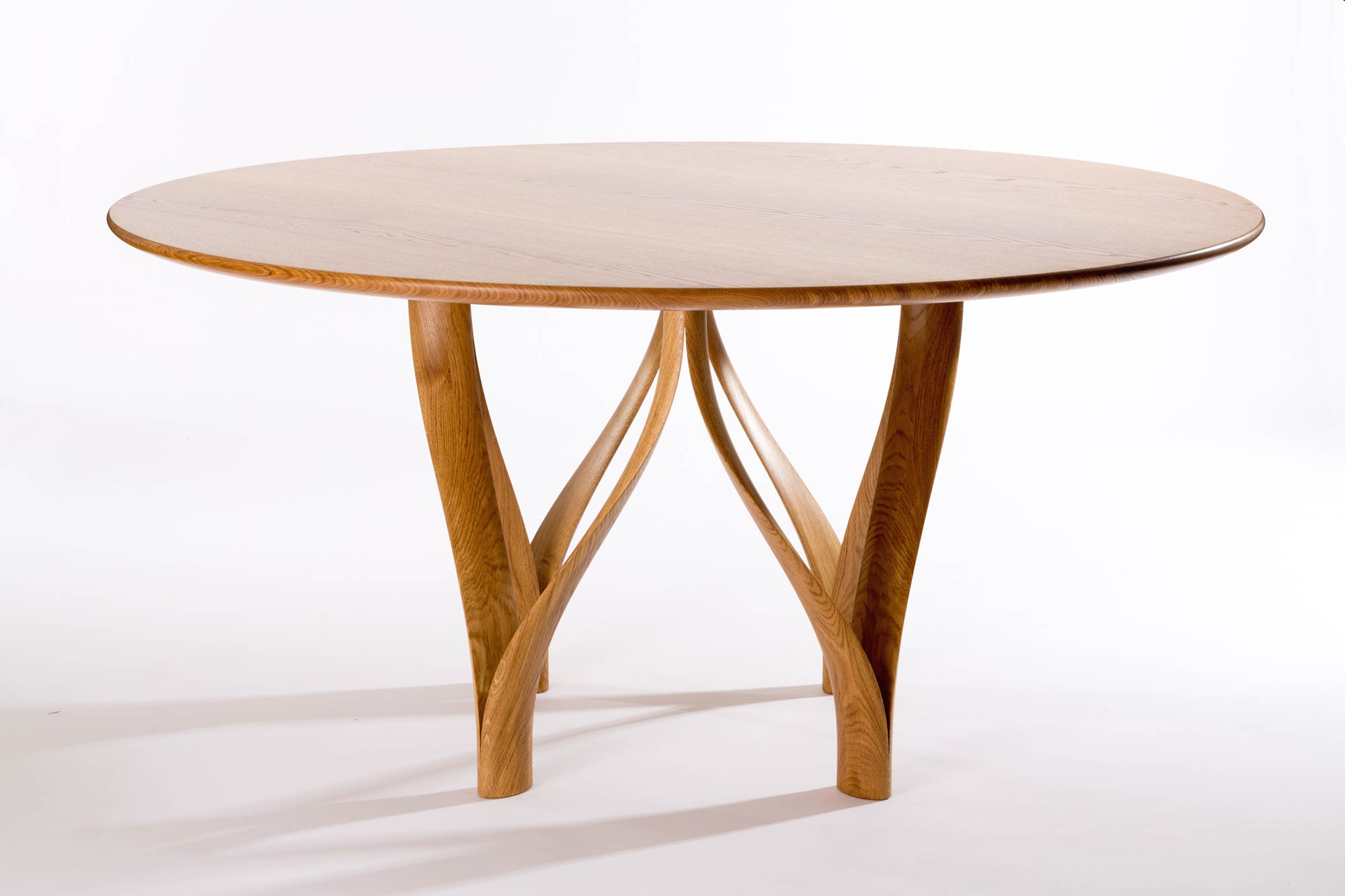 Oak Circular Dining Table Oak Extending Dining Table  : ribbon oak table large03 from amlibgroup.com size 2000 x 1333 jpeg 98kB