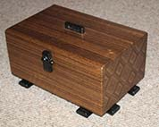 Jewellery box 'Endgrain'