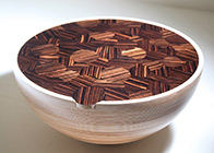 Coffee table 'Circle bowl'