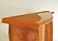 Console table 'Waney edge'