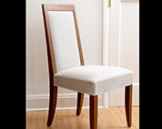 Art deco inspired dining chair