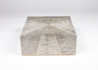 Starburst jewellery box in grey ripple sycamore